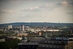 Bristol City Skyline (pixelhut) Tags: city uk england urban southwest bristol bs1 totterdown trenchardstreetcarpark bristolskyline