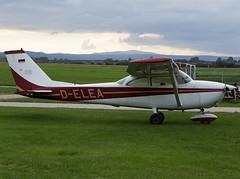 D-ELEA (ChrischMue) Tags: private skyhawk cessna delea ballenstedt verkehrslandeplatz 172h edcb