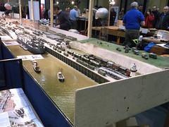 D-Day Layout (1) (girdergibbon) Tags: londonfestivalofrailwaymodelling railway modelling modeller alexandrapalace dday