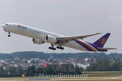 Thai Airways Boeing 777-3AL/ER (Marcellinissimo) Tags: thai boeing zurichairport zrh 7773aler hstko