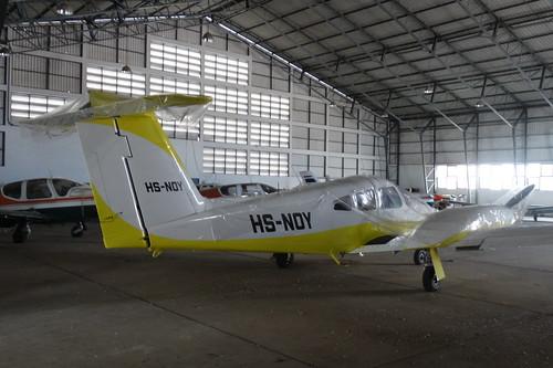 HS-NOY-2 Piper Seminole 180 Hua Hin 14Oct15 (Jean Marc Braun)