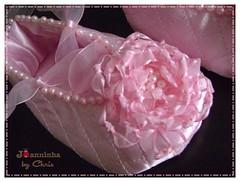 sapatinho (Joanninha by Chris) Tags: baby handmade rosa beb bailarina sapatinho feitoamo decoraoparameninas