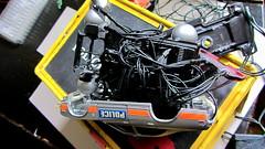 Corgi Toys Buick (Century) Regal Police Car No. 416 Converted Into A Futuristic Sci-Fi Hover Car : Diorama A Hover Police Car City Scene - 59 Of 98 (Kelvin64) Tags: city car century toys buick corgi no police scene scifi converted futuristic regal diorama hover 416 a into