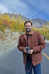 Autumn and me! (Shehzaad Maroof Khan) Tags: road autumn pakistan karakoram kkh hunza ontheroad gilgitbaltistan pakistanautumn