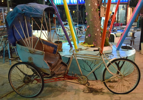 Hua Hin Bicycle Rickshaw