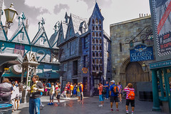 Diagon Alley (Neville Price 3) Tags: usa orlando nikon harrypotter universalstudios diagonalley d3100