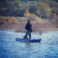 """""""The standup mode"""" follow us on facebook! 😁 #MalibuKayaks #kayaking #kayakfishing #angler #flyfishing #standup #paddling #paddleon #freshwater #kayak #outdoors #adventure"""