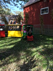 """Paul and Inde Ride a Train at Sonny Acres • <a style=""""font-size:0.8em;"""" href=""""http://www.flickr.com/photos/109120354@N07/23224677625/"""" target=""""_blank"""">View on Flickr</a>"""