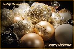 Merry Christmas! (Shootmania) Tags: christmas weihnachten indoor merry weihnachtskugeln fröhliche