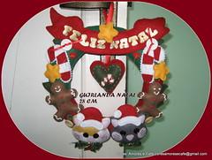 GUIRLANDA NATAL GATINHOS (CORES, AMORES E CAF (Cris)) Tags: natal felt feltro merrychristmas guirlandanatalina