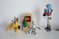 Merry Xmas 2015 !(12) (Loysnuva) Tags: christmas xmas tree fireplace lego system mecha mocs moc loys nuva icya bionifigs loysnuva mihibot bizibot