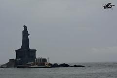 STANDING STRONG ! (ganesh.sabari) Tags: vacation statue photography nikon passion kanyakumari thiruvalluvar bestshot travelphotography nikon5200