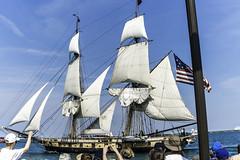 Tall ships 2016 Niagara pic2 (Artemortifica) Tags: boats chicago navypeir tallships band clouds fountains garden lakemichigan sailors sails skyline summer illinois