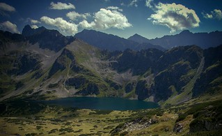 Valley of five Ponds, Tatry M. Poland