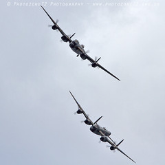 3642 2 Lancaster (photozone72) Tags: lancaster avro 2lancsuk cwhm bbmf rafbbmf warbirds wwii props canon canon100400mmf4556l 7d aviation airshows aircraft portrush airshow