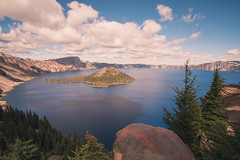 Blue (Enzymatic RXN) Tags: blue sky hike crater lake national park pregon southern travel photography vacation clouds color island wizard enzymatic rxn enzymaticrxn