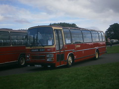 546 @ Donington Park (ianjpoole) Tags: bartons leyland leopard plaxton supreme kau546v 546 showbus 2016 donington park