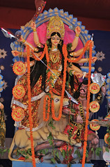 Durga Puja_2016_0013 (Mukul Banerjee (www.mukulbanerjee.com)) Tags: delhi durgapuja durga durgostav idol culture 2016 festival bengali nikond60 nikon2470mmf28 india cultural ncr gurgaon worship goddess female hindu crpark bangla mukulbanerjeephotography artist sculpture photographs images navratri panchami sashti saptami ashtami navami dashami