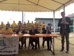 Presentazione squadra di rugby Giarole
