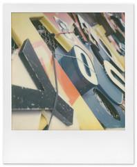 Yo! (tubes.) Tags: polaroidweek polaroid impossibleproject instantfilm minneapolis minnesota signage type