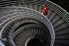 Spiral stairs (ys.khoo) Tags: hongkong central stairs spiral city people bridge steps yskhoo photography urban
