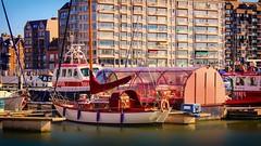Le port de Blankenberge (Yasmine Hens) Tags: port haven blankenberge europa aaa  belgique blgica    belgio  belgia   bel be
