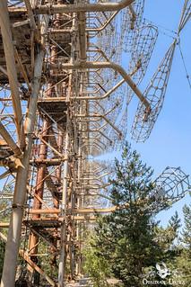 Chernobyl & Pripyat - Duga Antenna and Military