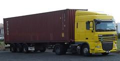 DAF XF 105.460 (michaelausdetmold) Tags: daf xf lkw truck fahrzeug sattelzugmaschine szm sattelzug