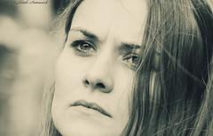 Portrait (Natali Antonovich) Tags: portrait sweetbrussels brussels belgium belgique belgie monochrome stare reverie