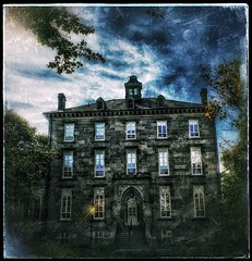 Don't expect a treat.... (Sherrianne100) Tags: trickortreat ghostly halloween hauntedhouse oldhouse