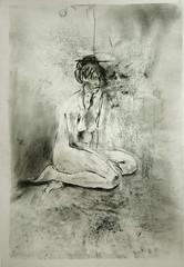 M. seitlich sitzend (Alemwa) Tags: alemwa berlin kreuzberg skezching zeichnung zeichnen sketch nude akt aktzeichnung frau woman lifedrawing zeichnennachmodell