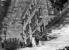2016237 (ruggeroranzani_RR) Tags: analog blackandwhite 35mm film adoxsilvermax21 kodakhc110 leicam6 voigtlandernokton11550 puddle reflection people venice filmdev