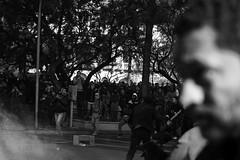 Santiago de Chile (Alejandro Bonilla) Tags: santiago chile street city urban bw black white blancoynegro bn blackandwhite blanconegro urbano urbana urbe urbex manuelvenegas minolta monocromo monocromatico