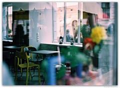 "Cafe ""Chashka"" in the Paul Celan Centre. Chernivtsi, Ukraine. (Ігор Кириловський) Tags: fujicolorindustrial100 chernivtsi ukraine slr fujica stx1 xfujinon fm 50mm f19"