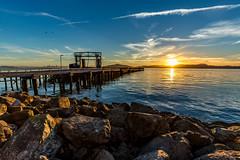 Aaron_Sesker HDR 7549 (Aaron Sesker) Tags: bay ca california dock goldenhour landscape landscapes pier richmond sea sunset water canon 1635 hdr