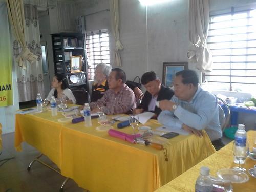 """VIỆN ĐÓN  Đoàn công tác của Giám đốc Đại học Nakhon Phanom đến thăm và ký văn bản hợp tác • <a style=""""font-size:0.8em;"""" href=""""http://www.flickr.com/photos/145755462@N06/30857038301/"""" target=""""_blank"""">View on Flickr</a>"""