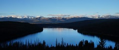 Holland Lake (JohnsonConnorDTE) Tags: adventure mountains montana holland lake sunrise silhouette nature clear sky