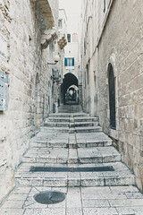 Old City of Jerusalem (Jan Senderek) Tags: jerusalem old city view skyline alley alleyway historic culture religion jewish jew islamic quarter austrian hospice sony sonyalpha a7 a7r a7r2 a7rii loxia 35mm