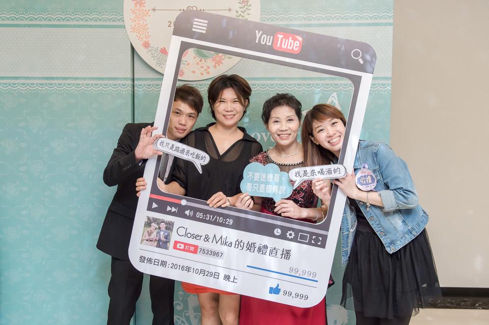 台南婚攝 婚禮紀錄 情定婚宴城堡 C & M 109
