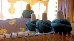 Konya - Mevlana Turbesi, shrine interior, tombs (damiandude) Tags: rumi dervish sufi