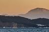 Le large de M'diq - Morocco (Bouhsina Photography) Tags: mer plage beach mdiq tétouan maroc morocco méditeranné bouhsina bouhsinaphotogrphy canon 7dii ef70200 montagne port wow sunset sea bateau voilier coucher soleil