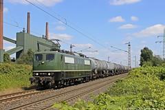BYB 151 119 am 16.08.2016 mit einem Kesselwagenzug in Bottrop-Wehlheim (Eisenbahner101) Tags: