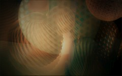 the fabric of dreams (margeois) Tags: abstract stg reflections curves orbs softcolors dreams