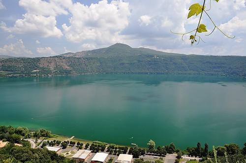 Lago di Albano da Castel Gandolfo (Roma - Italy)