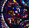 stained glass in Chartres Cathedral, France (Hipster Bookfairy) Tags: cathdral glass