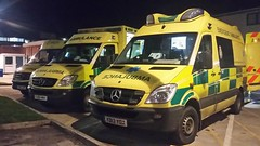 Yorkshire Ambulance Service A&E Mercedes At York Hospital (Gary Chatterton 3 million Views Thank You All) Tags: yorkshireambulanceservice accidentandemergency yorkhospital ae ambulance emergencyservices mercedes