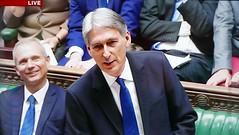2016 1123 019 (PLX100) David Lidington, Philip Hammond; Autumn Statement (BBC2) (Lucy Melford) Tags: panasoniclx100 parliament houseofcommons autumnstatement chancellor philip hammond