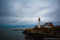 stormsacoming (Brian M Hale) Tags: cape elizabeth portland head portlandhead me maine newengland outdoors outside atlantic ocean water sky rocks architecture building light house lighthouse storm tiltshift tilt shift canon 6d coast brian hale brianhalephoto clouds