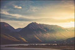 Twin Lakes (nl_photo) Tags: sunset gorgeous beautiful nikon d300 colorado mountains lake water twinlakes cowx landscape coloradotography light sunrays trees
