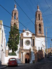 Zacatecas, Parroquia de Nuestro Padre Jesús. (helicongus) Tags: zacatecas estadodezacatecas méxico 2009